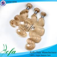 100% Mongolian human hair dark roots human hair blonde wigs