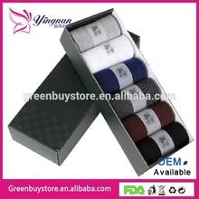 100% Cotton 2014 New HOT Classic Business Brand Man Socks Sports Socks, Men's Socks 6 Pairs/lot With Box