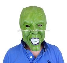 Alibaba Realistic Jim Carrey The Mask TV Movie Latex Green character masks