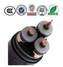 Low Voltage Al/Cu Conductor XLPE/PVC Insulation 3 Core Cable