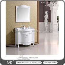 2015 New arrival brand design mirror with tv/usb/mp3/dvd bathroom vanity