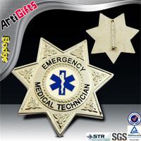 Wholesale souvenir metal sheriff badge metal star