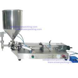 Low price useful skin whitening cream filling machine