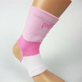 Pink color ankle support basketball