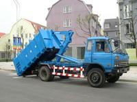 Garbage Dump Truck With Power Hydraulic Cylinder