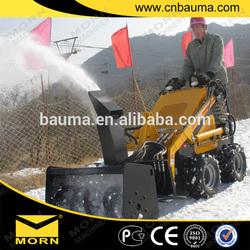 multi functions 165kg 23hp skid steer loader with wheel saw