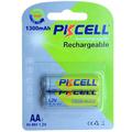 Atacado bateria nimh 2.4v/tipo nimh bateria recarregável 2*aa 1300 mah
