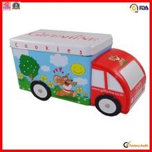 manufacturer food car shape toy tin can