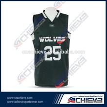 Latest club colorful A-league Custom Basketball shirt