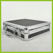 High quality Extra Heavy Duty Black Aluminum Tool Box