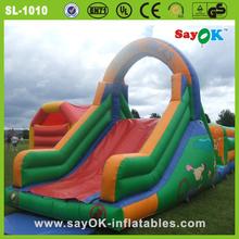 largest rental inflatable slip and slide pool slide for pool