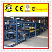 made in china heat sound insulation eps steel&eps sandwich panel building machine