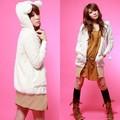 2014 heißer verkauf pullover pullover süße teddybär tragen damen winter jacke und mantel 3359