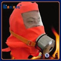 Alibaba Manufacturer Fire Fighting Helmet /Carbon Mask