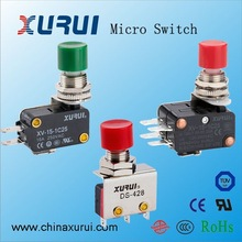 16A 250VAC Micro pushbutton switch, Push button electrical switch