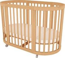 Cubby Plan convertible multi-purpose new born cot sleeping wooden nursery baby crib