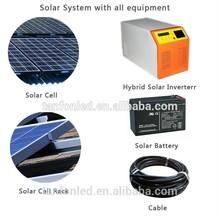 Solar Farm system solar power system/ground solar mounting system/2kw Solar Home Solar Power System/300W Solar Power System