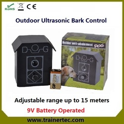 Hot sale outdoor bark house UL-10 control anti barking made in China