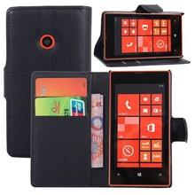 Protective case for nokia lumia 520, wallet leather case for nokia lumia 520
