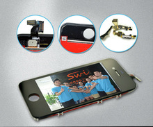 mobile phone parts lcd screen,for iphone 4s spare parts lcd screen