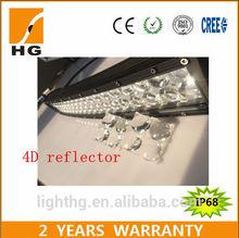 curved led light car 12v waterproofIP68 288W 50 Inch Led light car for off road