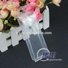 pvc plastic pouch, pvc hanger pouch, pvc button pouch
