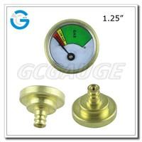 "High quality 1.25"" 32mm propane tank gas gauge meter"
