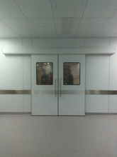 ZG0296 Interior double leaf automatic sliding door Gas Tight operation room Doors
