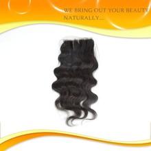Grade 6A unprocessed all express high quality virgin brazilian remy silk base closure