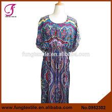 0952302 mujeres del estilo largo Kaftan vestido de fiesta con cuentas Kaftan