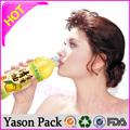 Yasonpack rojo de encargo de vino retráctil lápiz y etiqueta de la botella