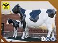 الألياف الزجاجية اليدوية البقر الحجم الحياة