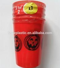 16OZ PP plastic stadium cup for Halloween