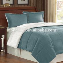 all-season solid polyester duvet/microfiber comforter/hotel quilt King size