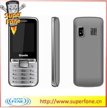 2.4 inch Long Time dual sim slim qwerty keypad mobile phone (G605S)