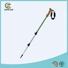 ultra-light 80% carbon fiber trekking pole with flick-lock system