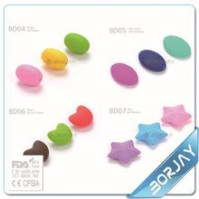 Alibaba china supplier pearl food grade silicone beads