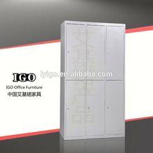ISO Certified IGO-025 Modern Office and Home use 2 tier steel locker