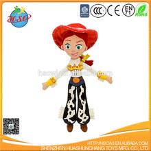 cartoon figure girl plush toy