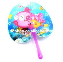 Hot sales promotional popular plastic hand fan sticks