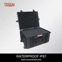 Model (584433) outdoor tools box Plastic Equipment tool Case, Plastic protective Casehard plastic tool box with transport handle