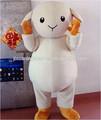 Más blancas que atraen a de la mascota de costum shaun the sheep adulto del traje de ovejas