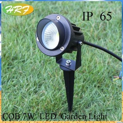 high lumen DC12V 5w 6w 7w garden led light COB ultra bright led solar garden light