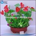 modelo 5219 aquário flores artificiais para decoração aqua