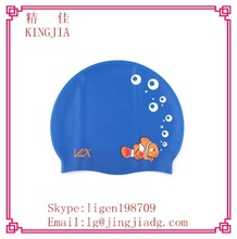 Cool Waterproof Hot Sale Silicon Swimming Caps in China Manufacturer