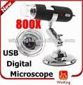 Microscope électronique prix/pilote usb microscope numérique 800x fabricant