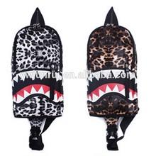 China factory bulk multifunction leopard korean brand waist bags
