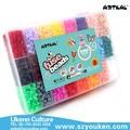 Puzzle jouets magiques pour enfants mi S-5MM 5200 pcs fusibles perler perles / boîte, 24 couleurs avec à repasser papier artkal perles fusibles