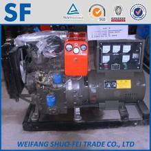 water cooled diesel 15 kw dc generator