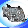 Para mitsubishi pajero head lamp / lâmpada principal auto / conduziu a lâmpada auto